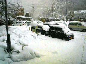雪 駐車場