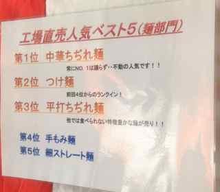 人気麺ランキング0812