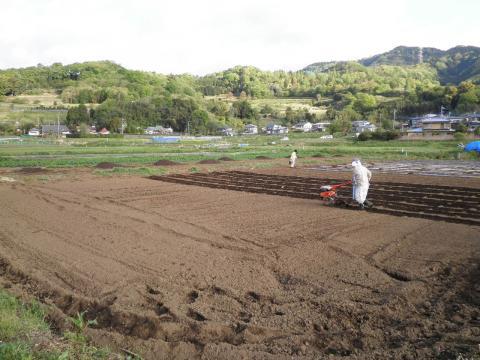 畑の耕作69