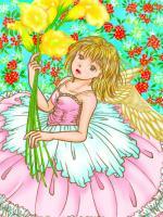 天使の女の子 手直し元画像