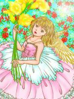 天使の女の子 完成