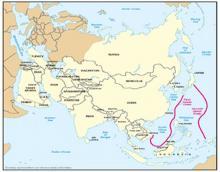 中国の狙う列島線