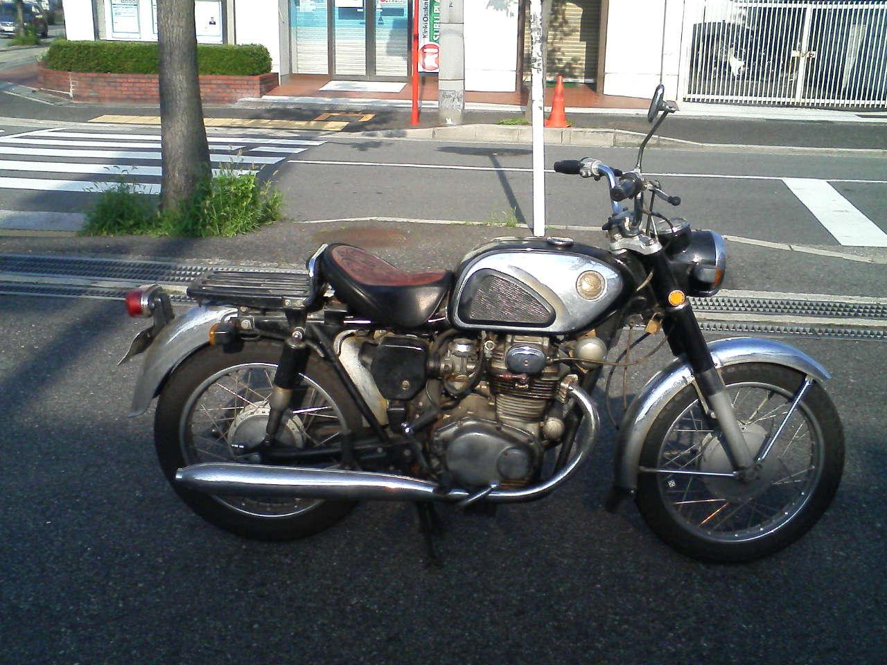 バイク全体