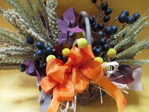 収穫祭のアレンジメント