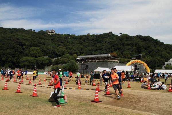 第1回マツヤマ城下リレーマラソン 11