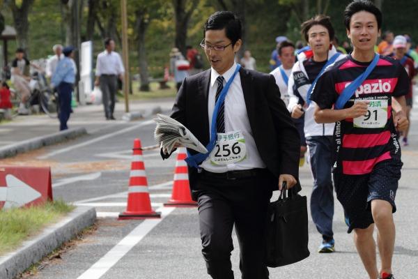 第1回マツヤマ城下リレーマラソン 14