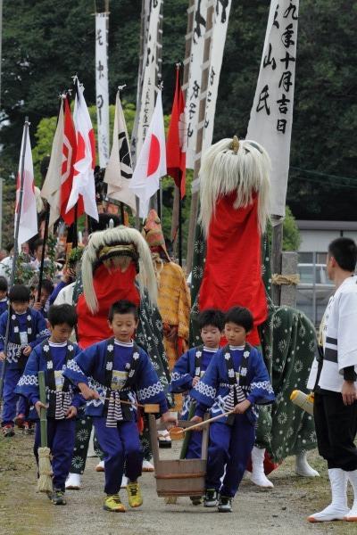 浮島神社お練り 141012 04