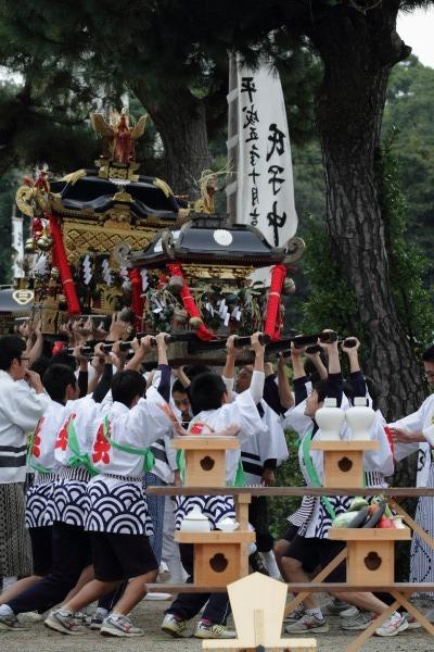 浮島神社お練り 141012 06