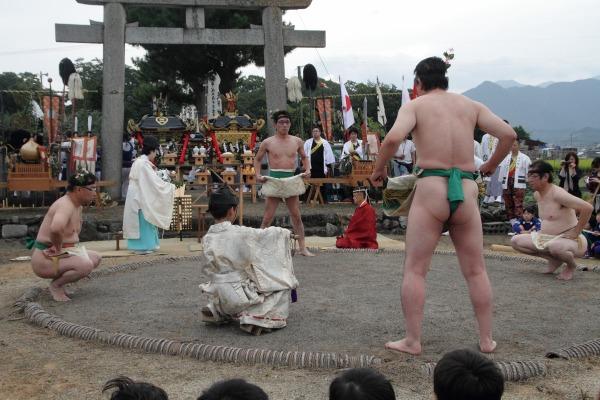 浮島神社お練り 141012 07
