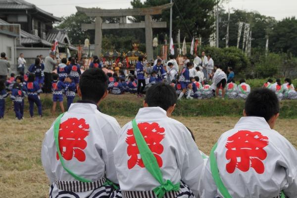 浮島神社お練り 141012 08