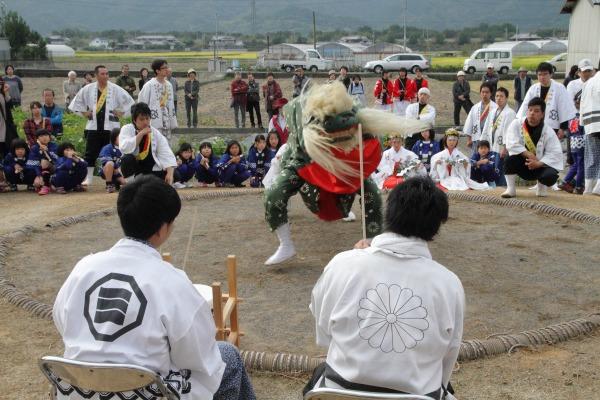 浮島神社お練り 141012 10