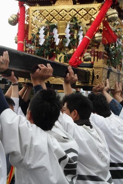 浮島神社お練り 141012 14