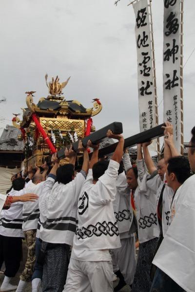 浮島神社お練り 141012 21
