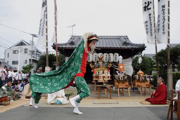 浮島神社お練り 141012 24