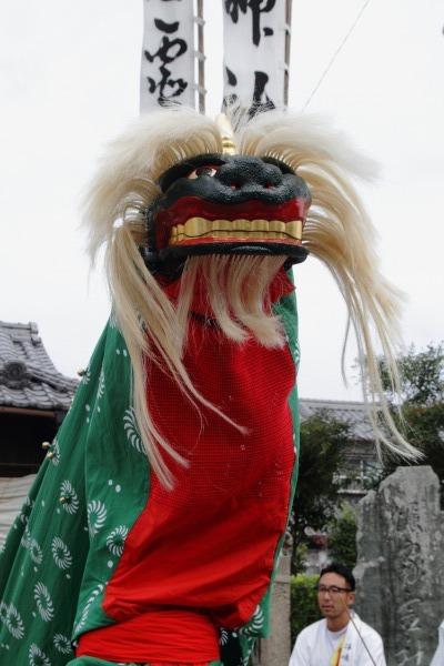 浮島神社お練り 141012 25