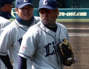 絵日記4・5西武戦ナカジ