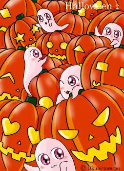 ハロウィン~かぼちゃてんこ盛り2