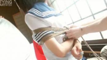 [TyingArt縛リ芸術]美少女、姉妹二人緊縛GAG - エロ動画 アダルト動画