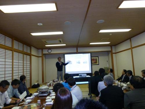 岡村先生の講演