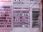小粒らっきょうの栄養成分と内容量