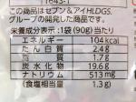 きんぴらごぼうの栄養成分