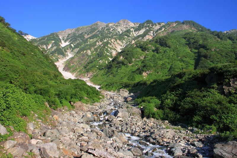 2012年8月4~5日 白馬三山縦走初日_010