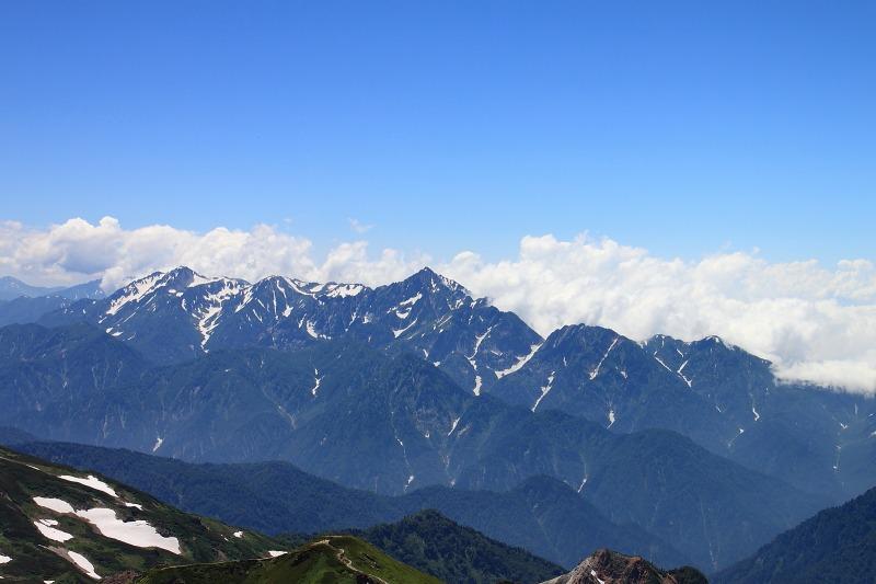 2012年8月4~5日 白馬三山縦走初日_046