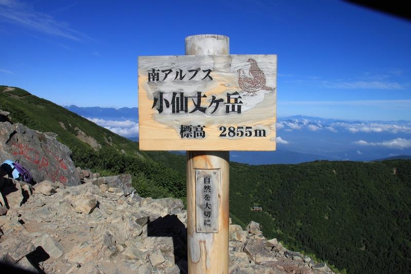 2012年8月26日 仙丈ケ岳_046