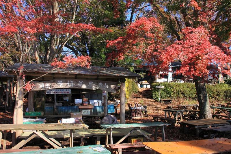 2012年11月18日高尾山~陣馬山縦走_025
