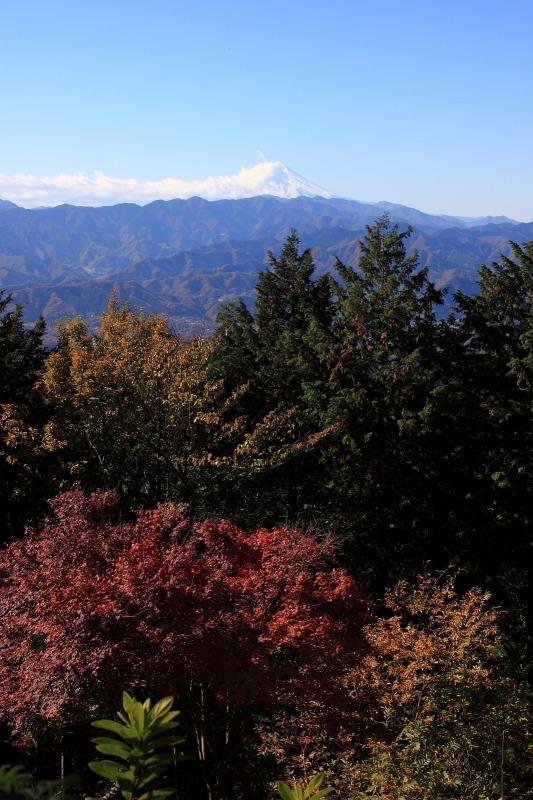 2012年11月18日高尾山~陣馬山縦走_035