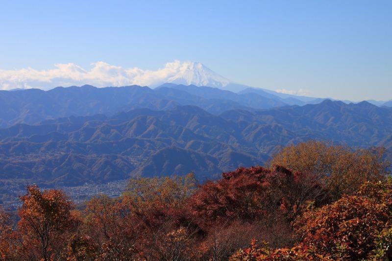 2012年11月18日高尾山~陣馬山縦走_044