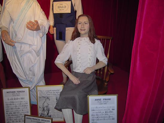 蝋人形アンネフランク