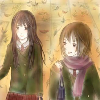 虹子と紅葉