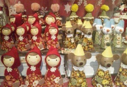 指人形いっぱい