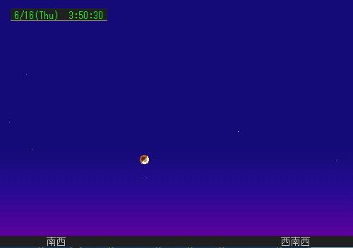 2011 6 16 早朝の皆既月食星図2