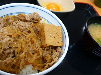 20101030_牛鍋丼