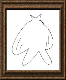 映画のキャラクターじゃないよ。動物を描いたの! 「○○○り」