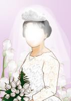 お義母さん結婚式写真から
