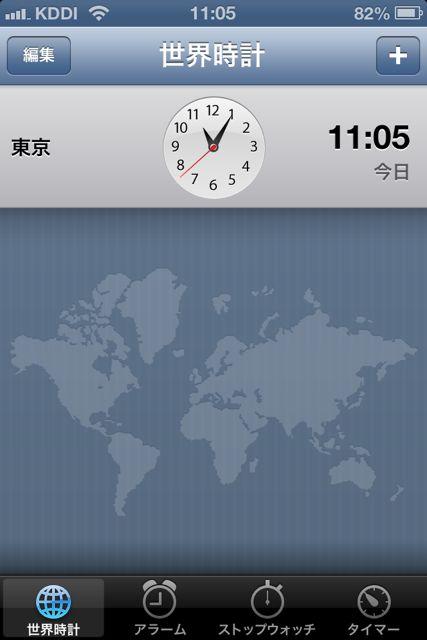 世界時計 東京
