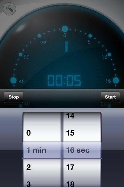 マルチキッチンタイマー1分16秒