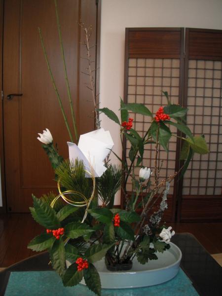 正月花2010③