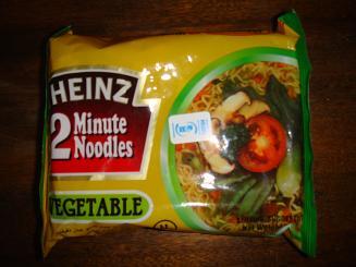 縮小版インスタント麺パッケージ