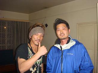 縮小版ヒデさんとミヤケンさん
