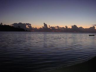 縮小版夜明けの海岸