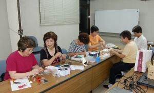 交通安全(作州津山商工会久米支部女性部)