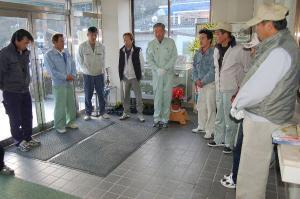 作州津山商工会工業部久米地区ボランティア