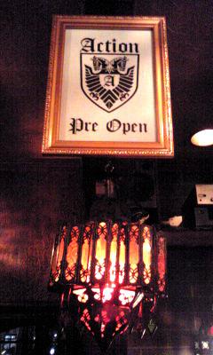 action pre open