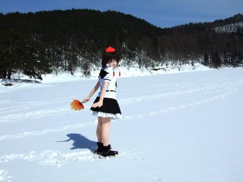 雪ロケ10
