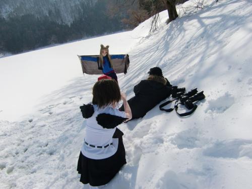 雪ロケ16