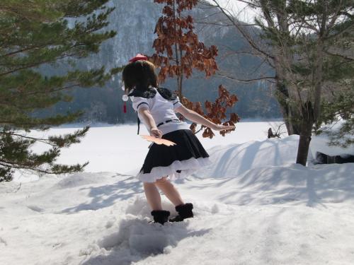 雪ロケ23